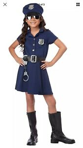 Halloween. Police Officer Costumes.  Large size. Age 9-12.