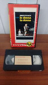 IO DONNA TU DONNA - VHS PCX SVIZZERA - Italia - IO DONNA TU DONNA - VHS PCX SVIZZERA - Italia
