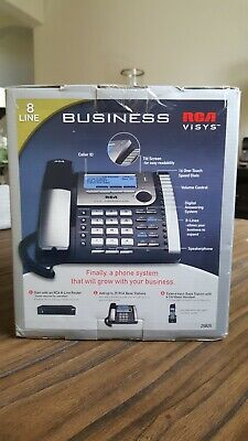 Rca Visys Business Digital 8-line Multihandset Phone System 25825 Open Box New