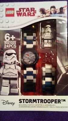 Lego Star Wars STORMTROOPER Buildable Watch # 8021025 NEW
