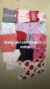 Infant girl clothing, 0-3 months, $20
