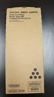 Genuine Ricoh Savin Lanier C7500c7570ld275c Black Print Cartridge 841288