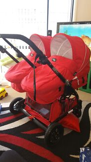 Like New, 2015 model Valco Zee Spark Duo Double 2 Seats Pram Wollongong 2500 Wollongong Area Preview