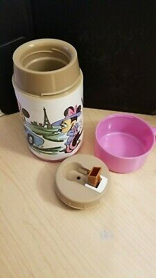 Vintage Aladdin Thermos - Mickey and Minnie Mouse in Paris