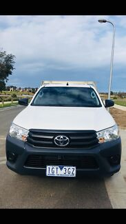 2016 Toyota hilux 4X2 workmate manual cab chassis Berwick Casey Area Preview