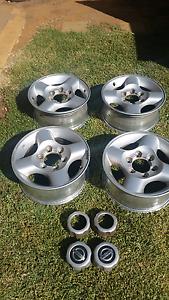 D22 Navara alloy wheels Andrews Farm Playford Area Preview