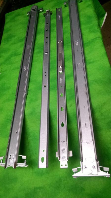 HP DL380 DL385 G6 G7 Rack Mount Rail Set 487259-001 487244-001 574795-001 #10