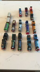 Thomas the Tank Engine trains and trailers