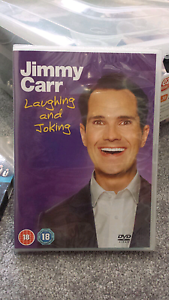 NEW☆ Jimmy Carr DVD Laughing & Joking Strathmore Moonee Valley Preview
