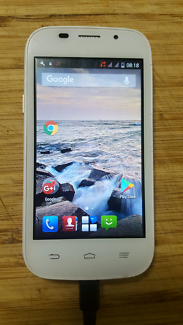 ZTE Blade Android White Mobile Phone