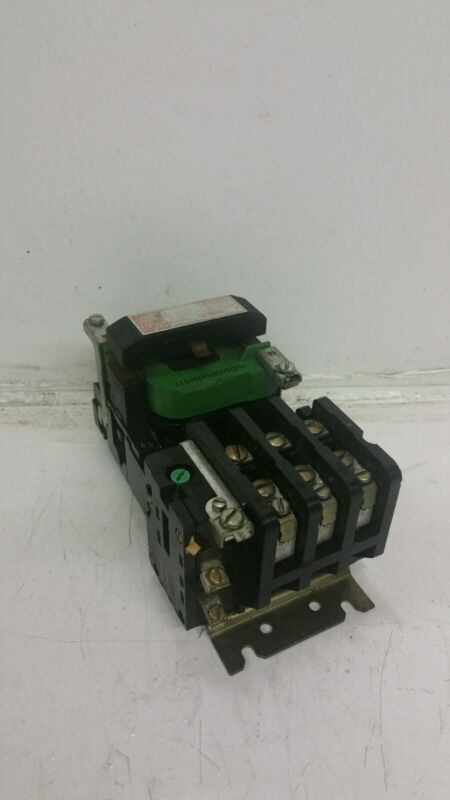 GE GENERAL ELECTRIC CR206B0 SIZE 0 CONTACTOR 18A 600V 3PH 5HP 115V COIL