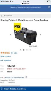 Stanley 28 inch tool box