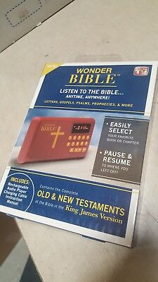 Wonder Bible The Talking King James Bible Audio Player, As Seen on TV New