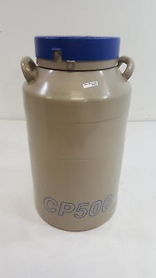 Taylor-wharton Cp 500 Liquid Nitrogen Dewar Tank W Insulated Case Cp500
