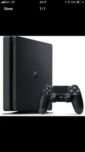 PS4 Slim 1TB bought a month ago.