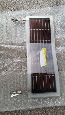 PowerFilm WeatherPro 7.2V 100mA Flexible Solar Panel P7.2-75 (1x panel)  100ma Flexible Solar Panel
