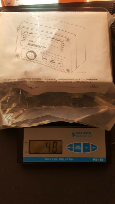 Pneumercator etd 1000 electronic tank display, open box new condition !