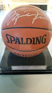 Michael Jordan Signed Basketball with COA Caulfield Glen Eira Area Preview