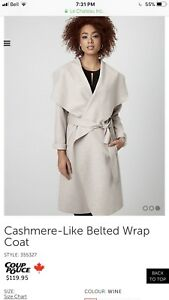 Le Chateau Wrap Coat