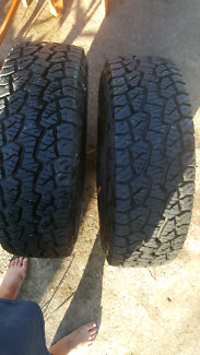 265 75 16 two tyres