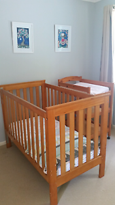Cot & Change Table Buderim Maroochydore Area Preview