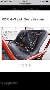 Vent racing 4 seat conversion for rzr