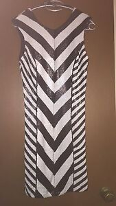 Bardot black and white dress Campbelltown Campbelltown Area Preview