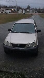 2001 Honda CR-V 5 speed
