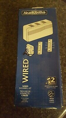 HEATHCO LLC Wired Doorbell Contractor Kit, White SL-27102-02