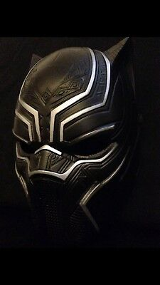 Cougar Halloween Costume (Black Panther Mask Adult Halloween Costume Free)