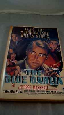 1945 Screenplay Raymond Chandler's 'The Blue Dahlia' the  with Photos