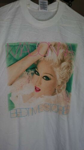 MADONNA 1995 Bedtime Stories vintage licensed t-shirt XL NEW with tags RARE