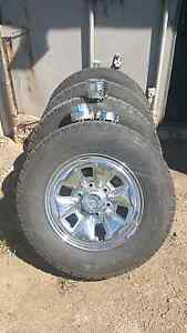 Toyota Hilux sr5 rims and tyres Clarence Town Dungog Area Preview