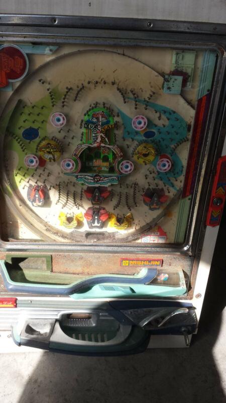 Vintage Japenese Nishijin Pachinko Pinball Game