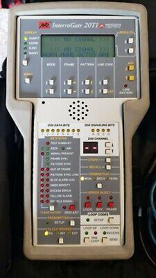 Used Megger Avo 20t1 Interrogatr T1hdsl Span Verifier And Tester.