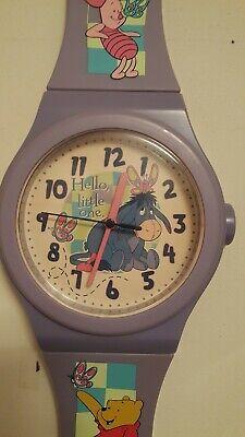 Vintage DISNEY Eyeore Wrist Watch Wall Clock-GOOD CONDITION!!