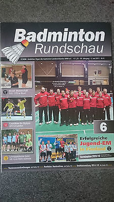 Badminton Rundschau Nr. 6 v. 05.06.2011 Zeitschrift Rarität!