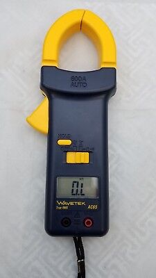 Wavetek Ac65 True Rms Clamp Multimeter. Free Set Of Test Leads