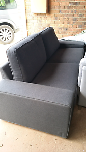 Ikea Kivik 3 seater sofa in grey Rowville Knox Area Preview