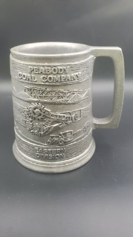 VINTAGE 1985 PEABODY COAL COMPANY EASTERN DIVISION Pewter Mug Stein