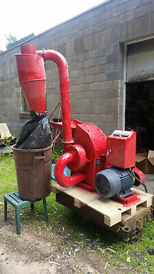 Hammer Mill Feed Grinder -15hp 220v 3ph Electric Powered Usa In-stock Wsupport