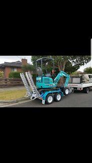 1.7T Mini Excavator for Dry Hire.