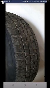 205/65 R15 studded winter tires with rims