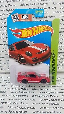 HOT WHEELS PORSCHE 911 GT3 RS COUPE HW WORKSHOP RED