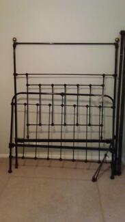 Beautiful Antique Iron Double Bed