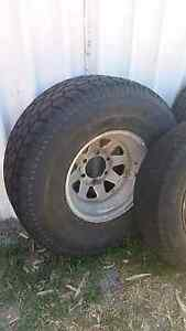 "4x4 rim and tyre 15"" (6 stud) (only 1 for sale) Hopeland Serpentine Area Preview"