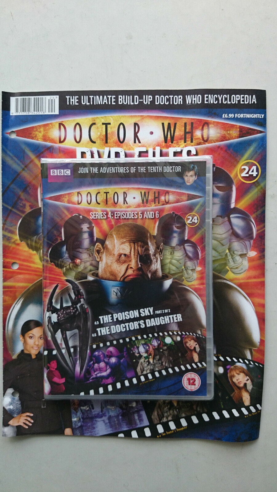 Doctor Who Series 4 Episodes 5 and 6  SEALED With Magazine
