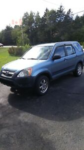 2002 Honda CRV For Sale or Parts