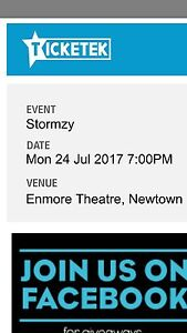Stormzy Standing Tickets - First show - 120$ - OVER 18 Five Dock Canada Bay Area Preview