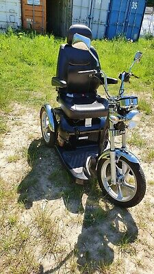 Sport Rider 3 Wheel Trike Xdrive INCLUDES BATTERYS AND PONCHO RAIN COVER.   for sale  Peterborough